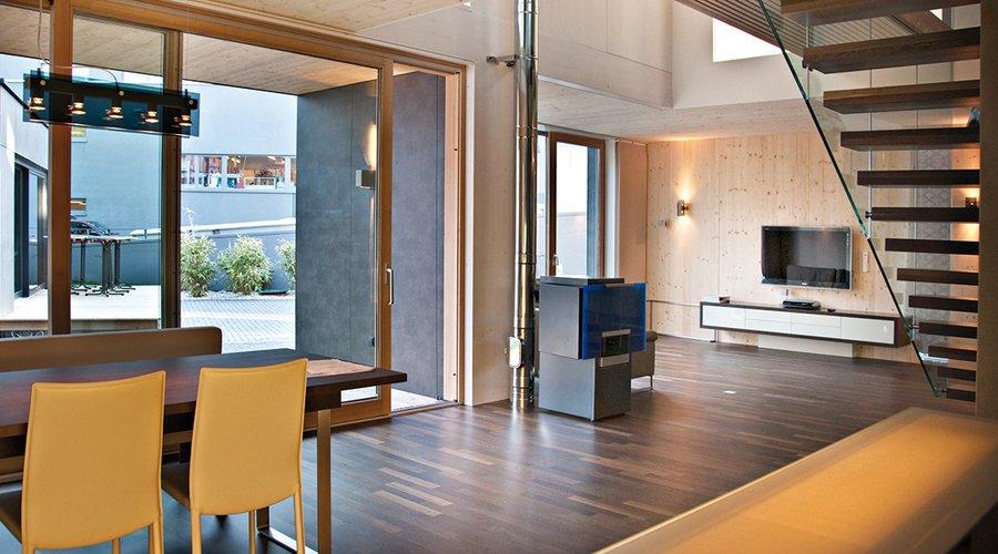 all in one schafferer holzbau holzhaus navis tirol. Black Bedroom Furniture Sets. Home Design Ideas