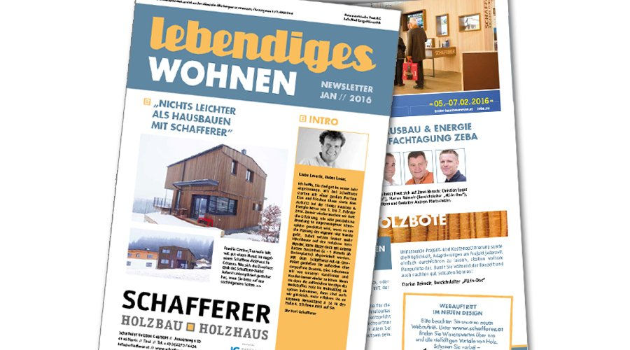Newsletter Jänner 2016