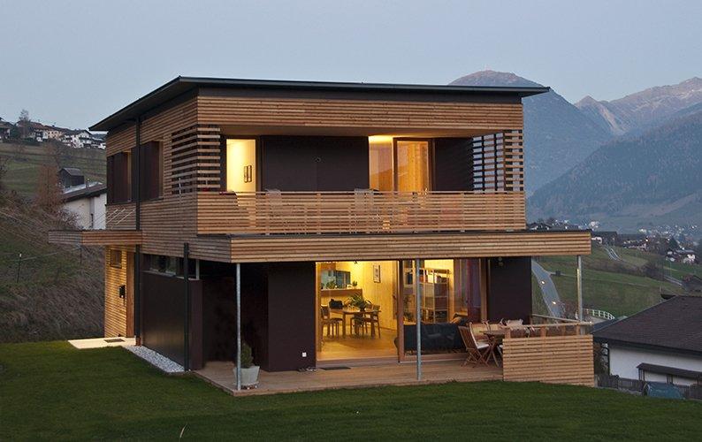 Galerie Schafferer Holzbau Holzhaus Navis Tirol